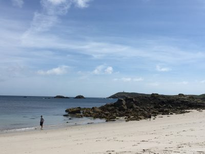 Great Bay isles of scilly with kids