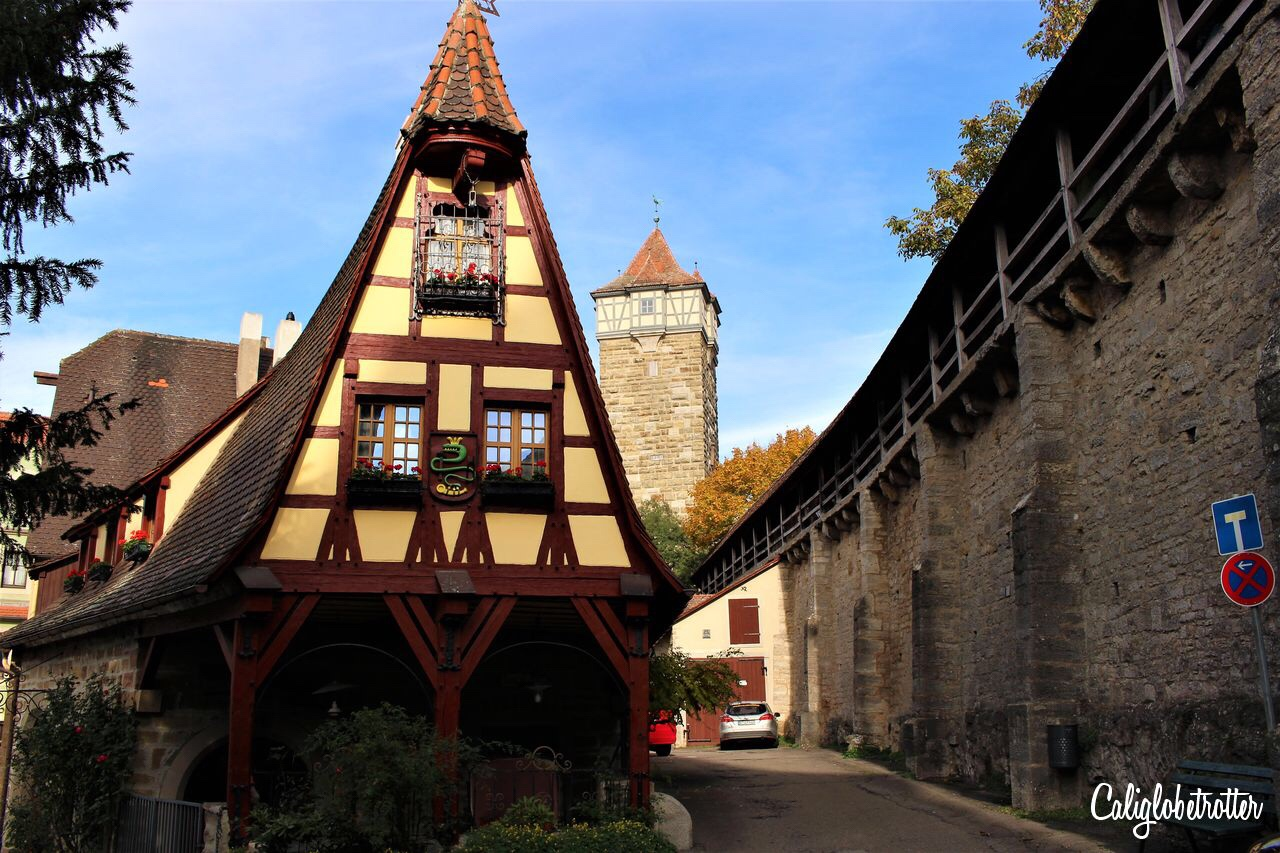 Rothenburg ob der Tauer, copyright Lorelei @ California Globetrotter