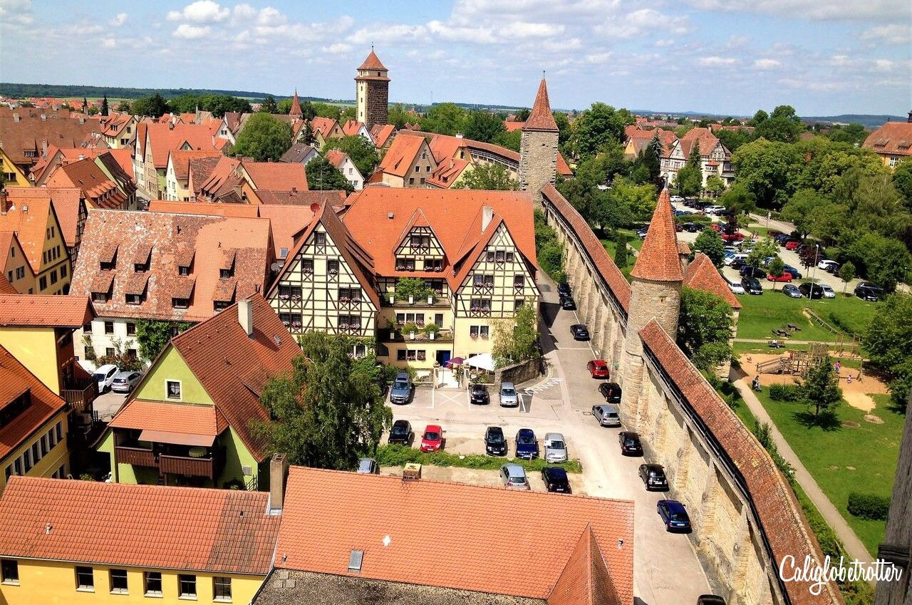 rothenburg ob der tauer copyright California Globetrotter