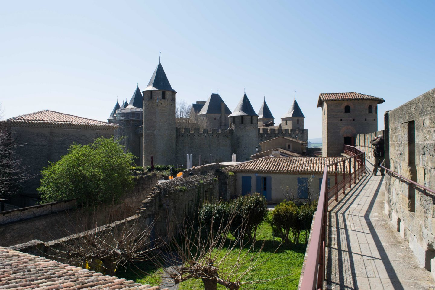 castle of Carcassonne, family city break