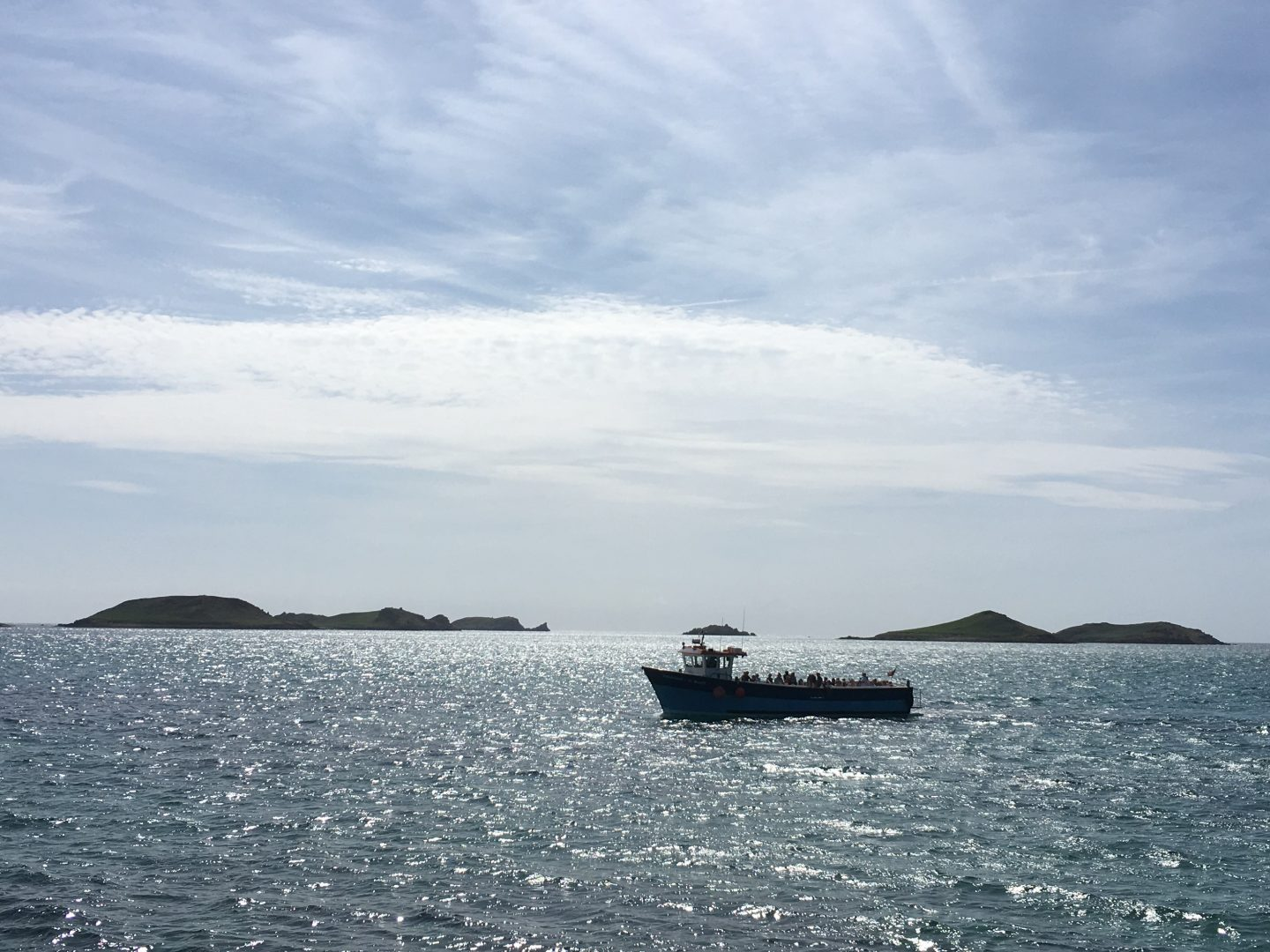 Travelling to the off-islands Isles of Scilly