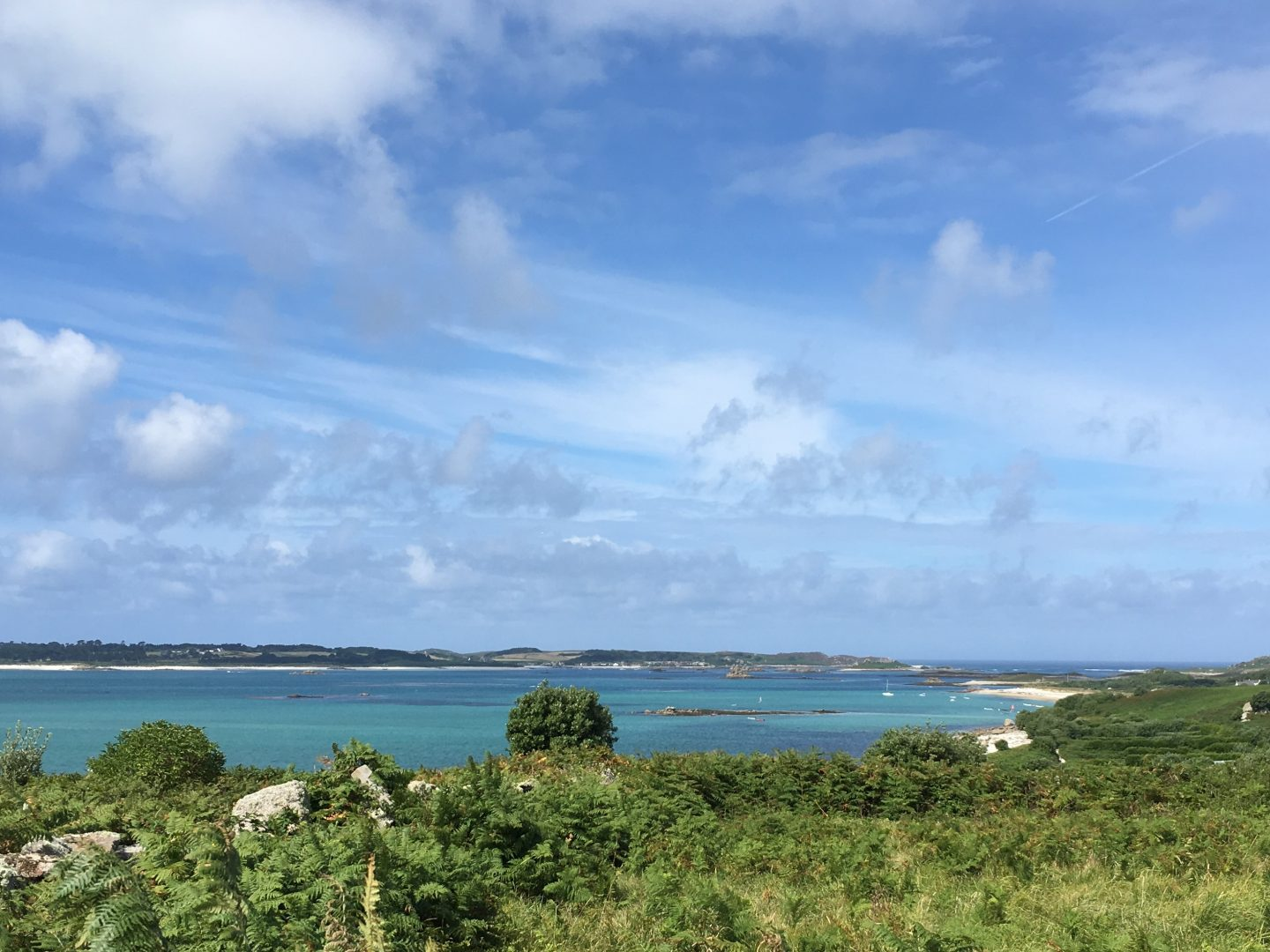 Isles of Scilly view summer 2018