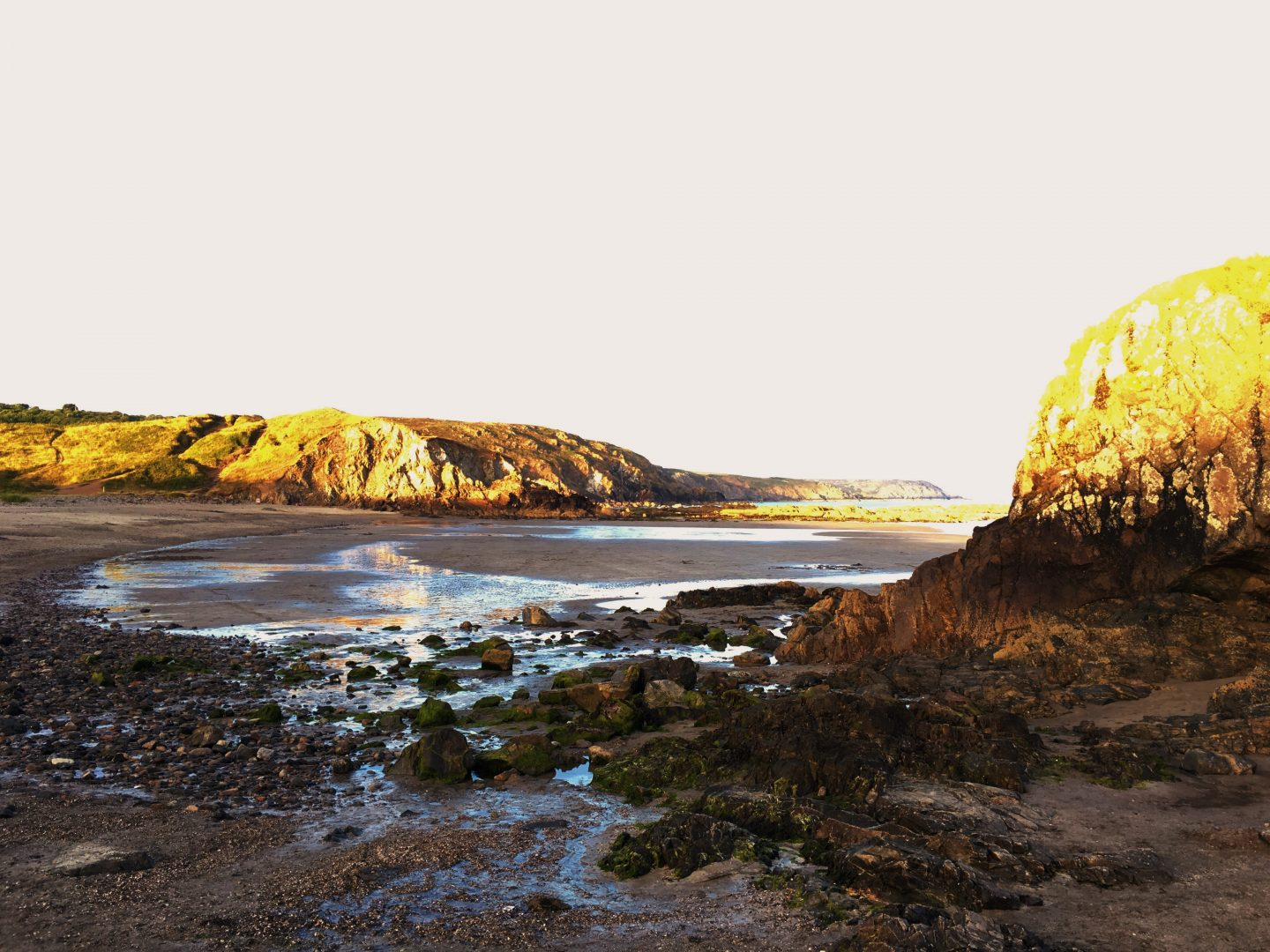 Evening at Kennack Sands Lizard Peninsula