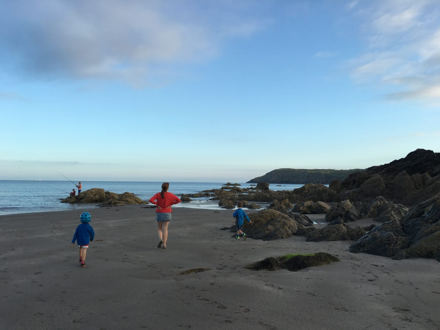 Evening walk on Kennack Sands Lizard Peninsula