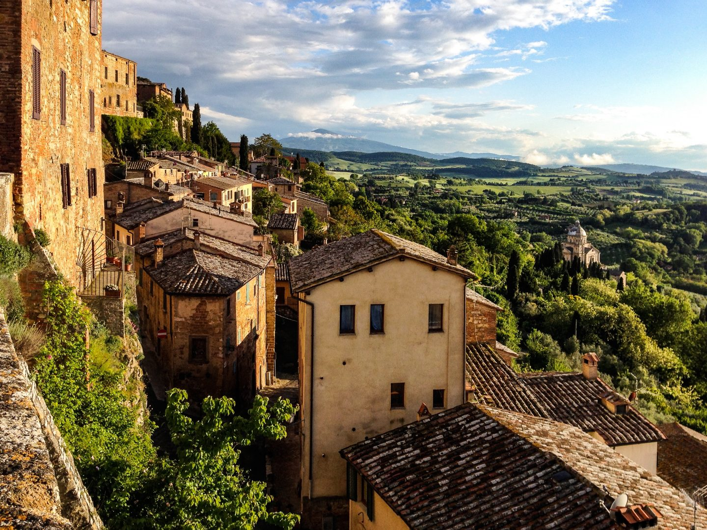 Montepulciano italy family holiday