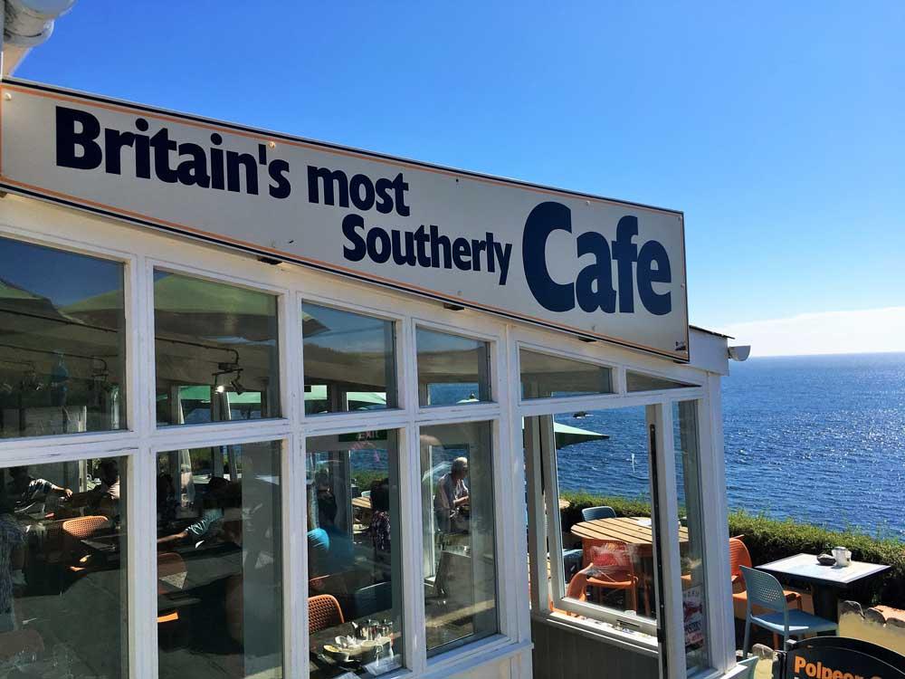 clifftop Polpeor Cafe Lizard Point