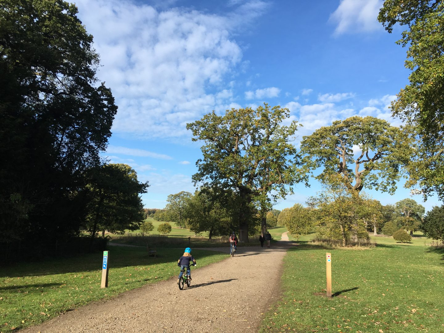 Exploring Blickling Estate by bike