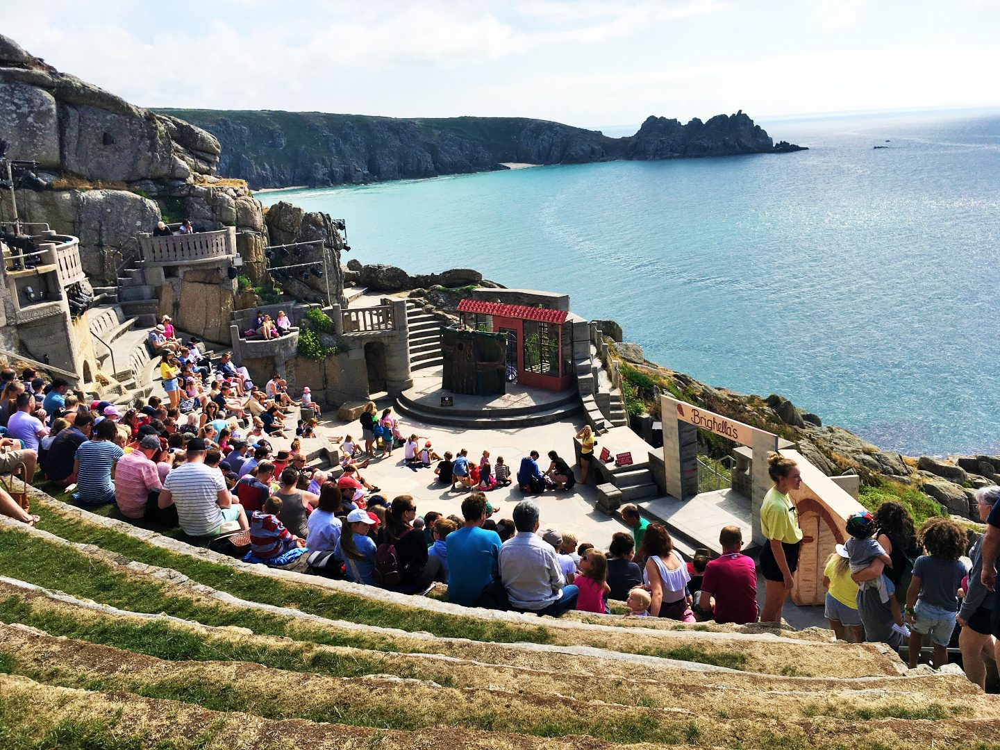 A visit to the Minack Theatre and Porthcurno Beach