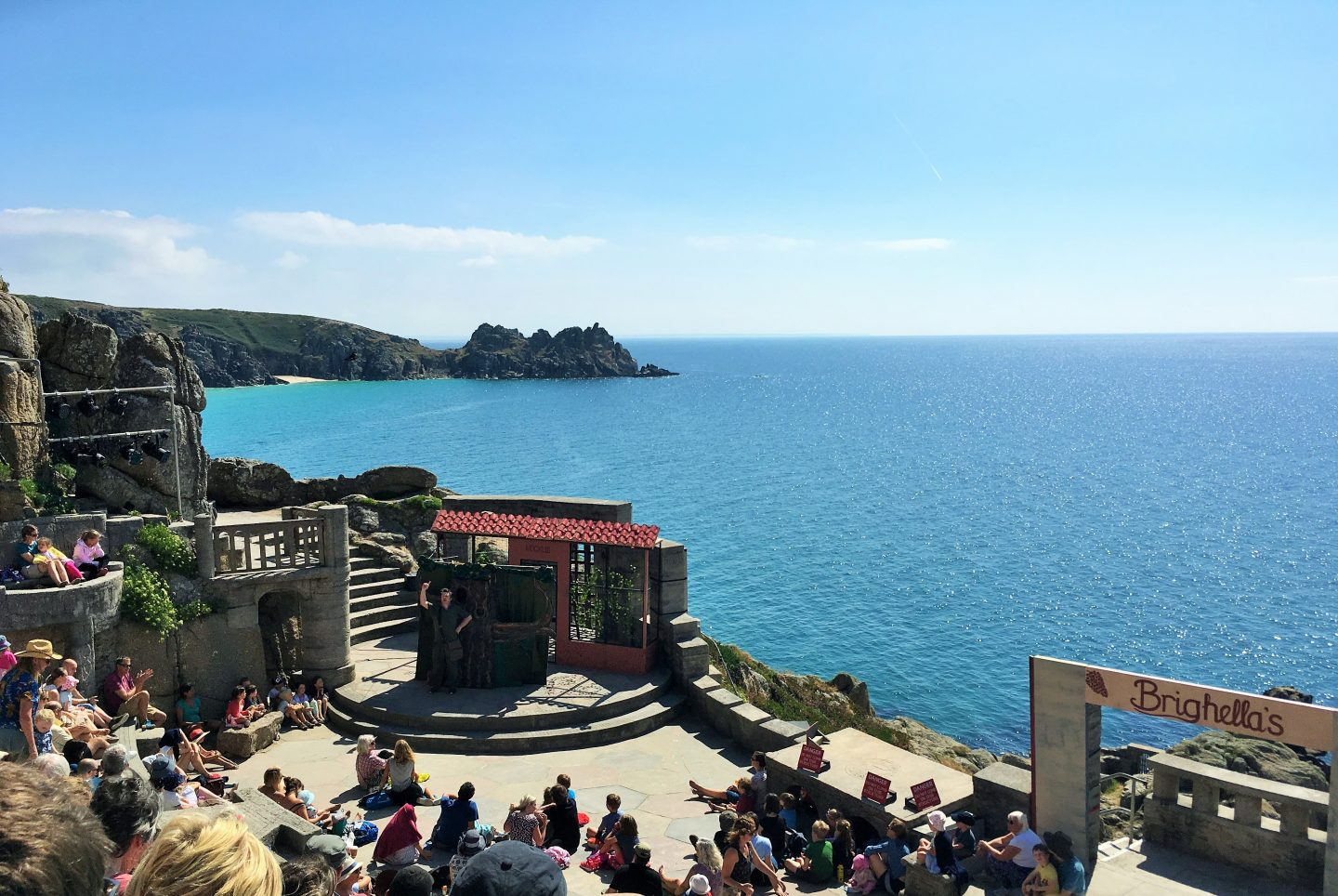 Craig Johnson: Squashbox Theatre at the Minack Theatre, Cornwall outdoor theatre