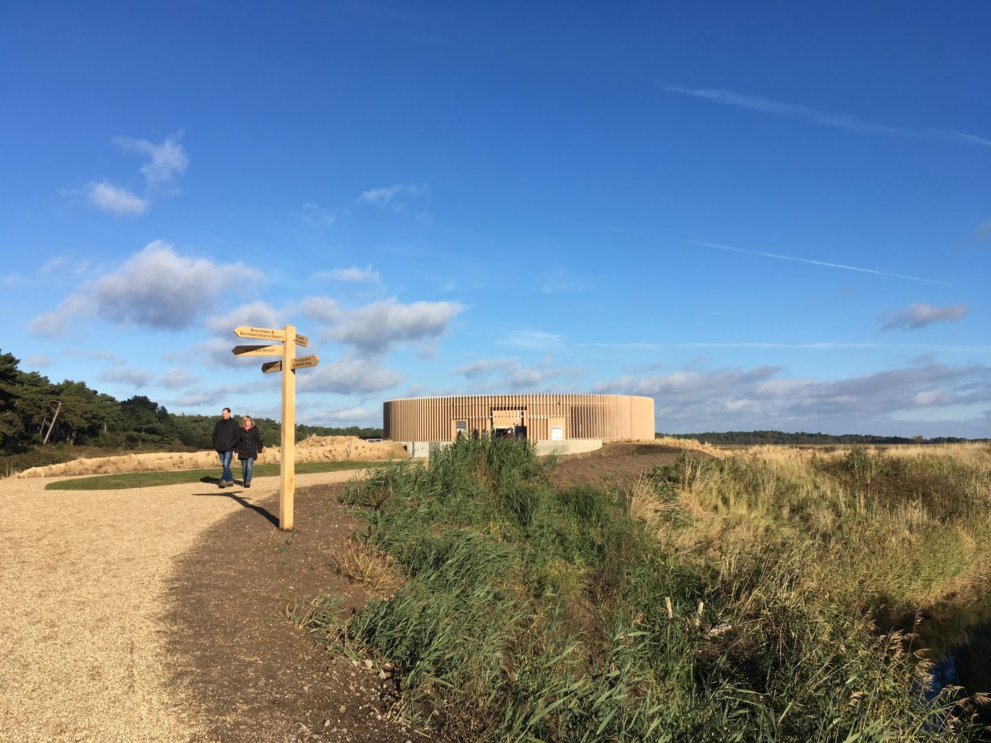 The Lookout at Holkham National Nature Reserve