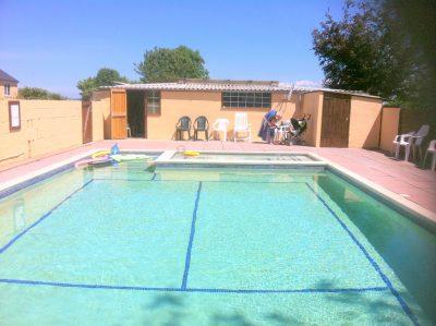 Torridge House swimming pool Devon