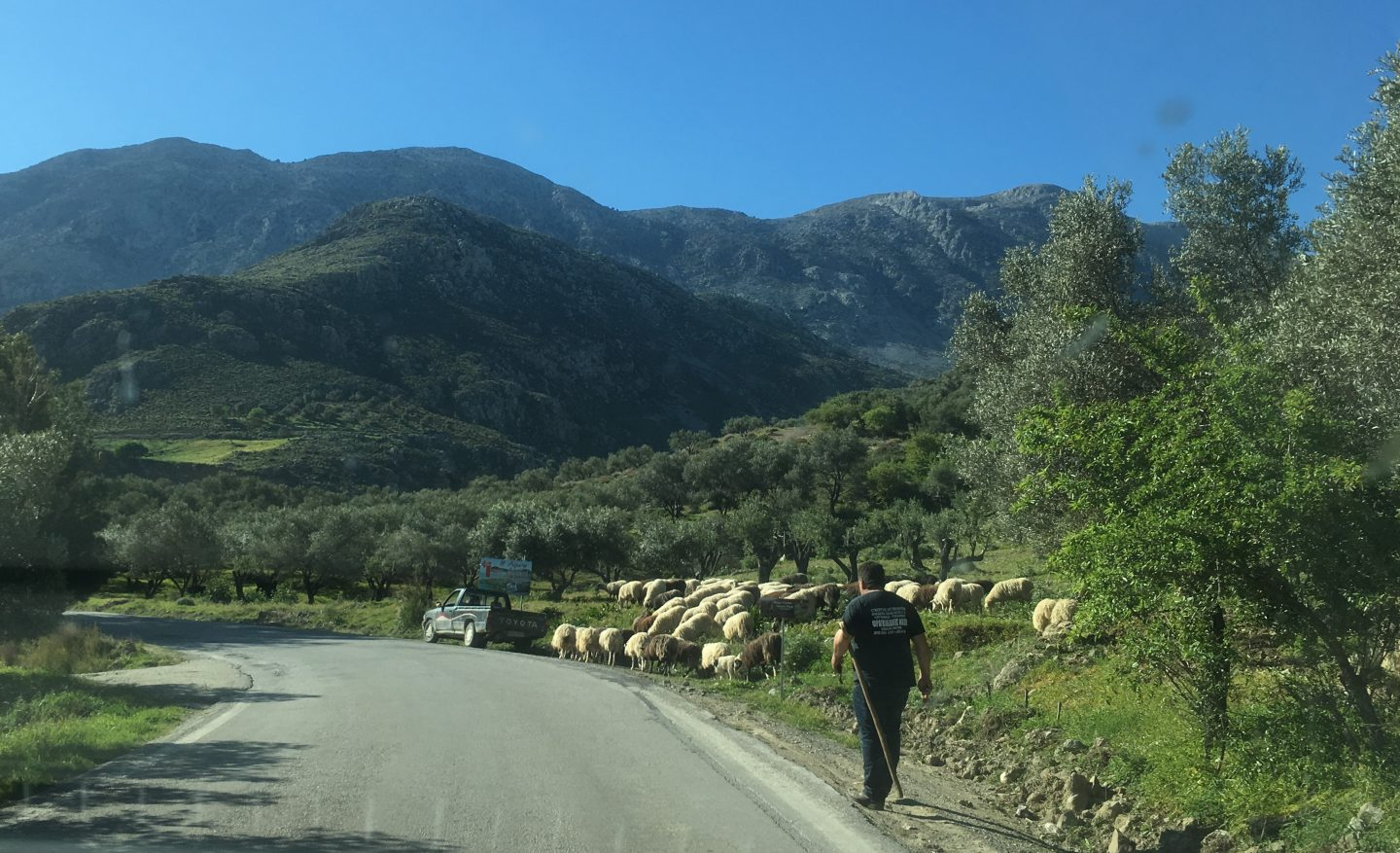 Mountain roads of Crete