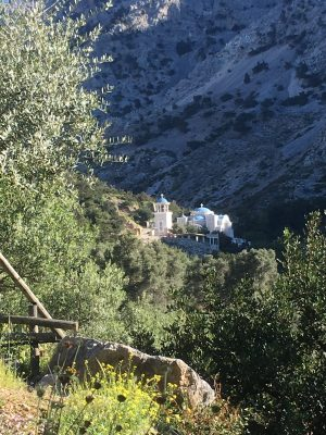 Scenery surrounding Eleonas Country Village in Crete