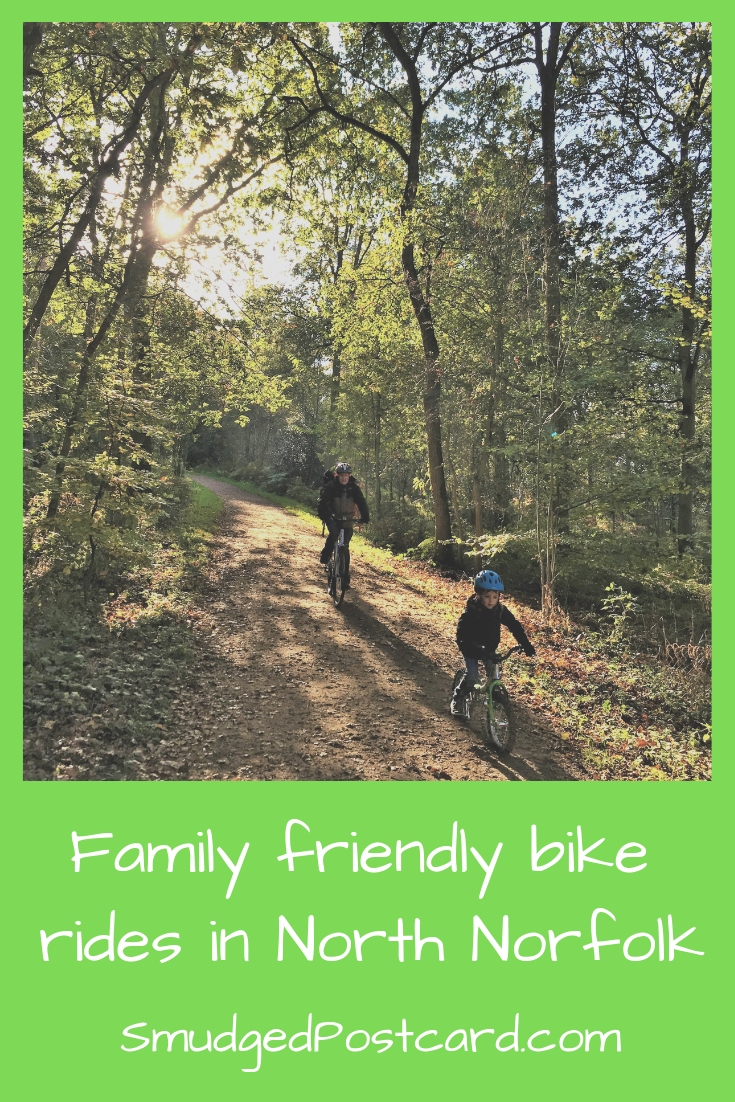 Family friendly bike rides in North Norfolk
