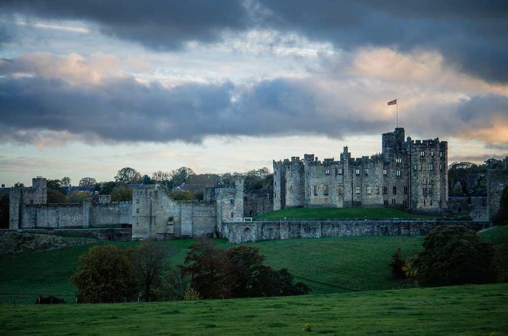 Alnwick Castle pixabay credit Similitude, near the A1