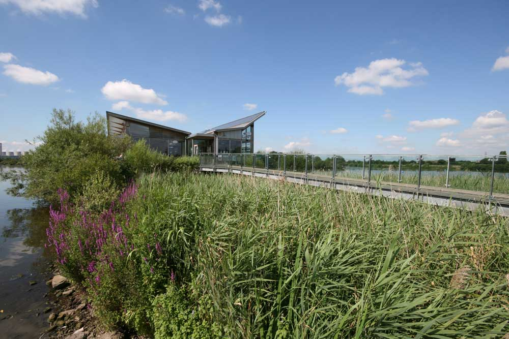 Attenborough Nature Centre, credit Nottinghamshire Wildlife Trust
