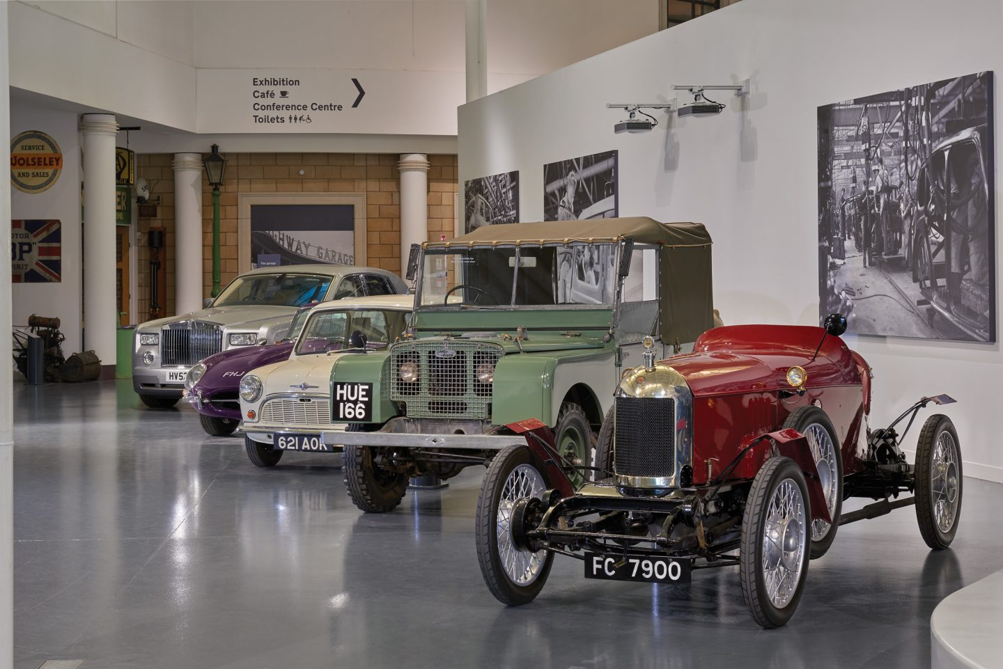 British Motor Museum just off the motorway m40