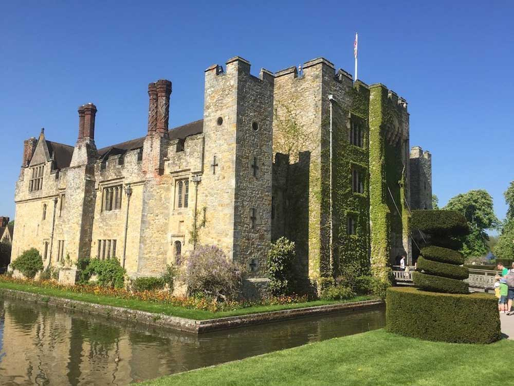 Hever Castle, Kent, copyright Clare at Suitcases and Sandcastles