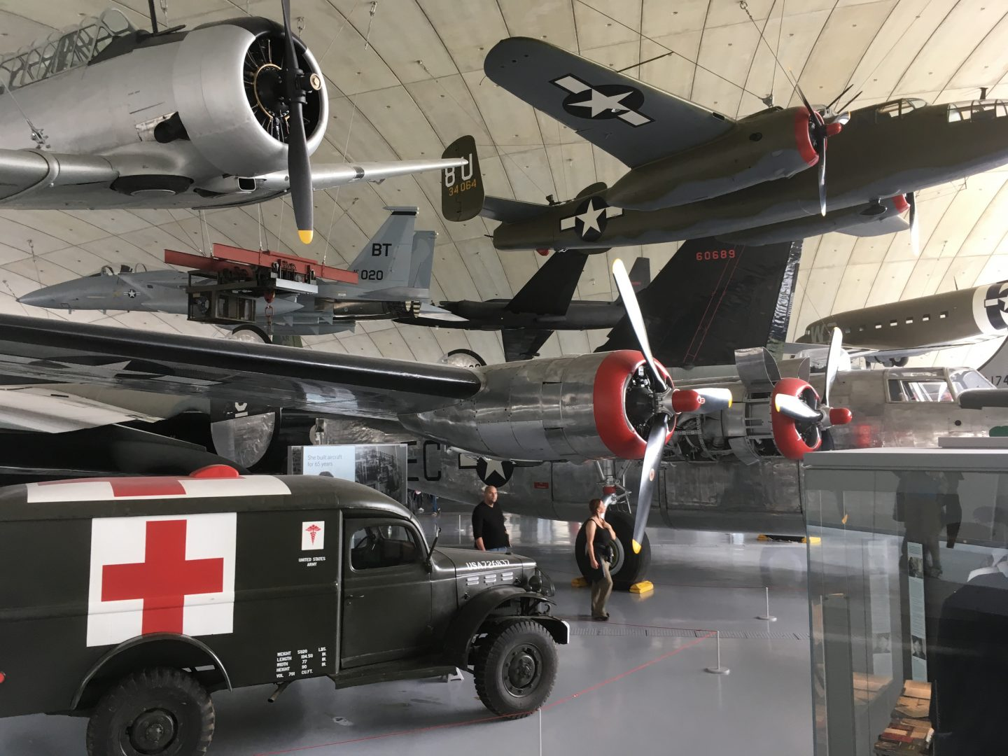 Duxford Imperial War Museum, near the M11
