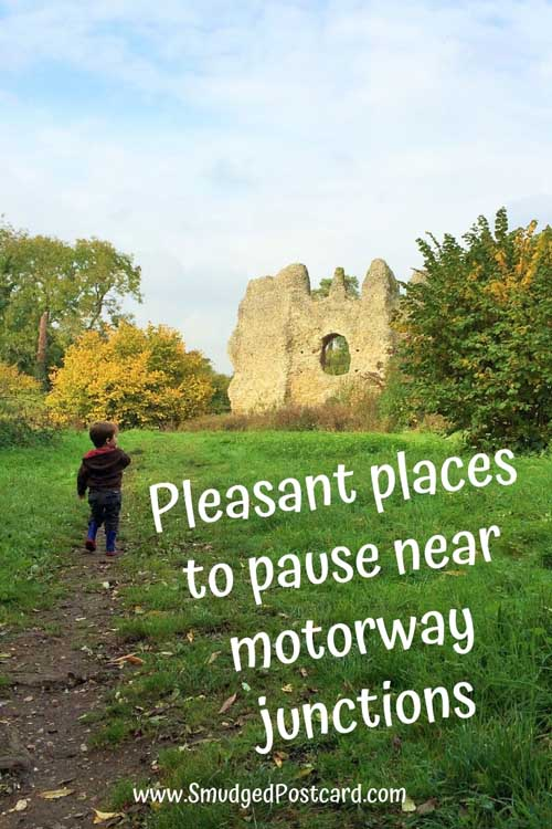 places to stop just off the motorway