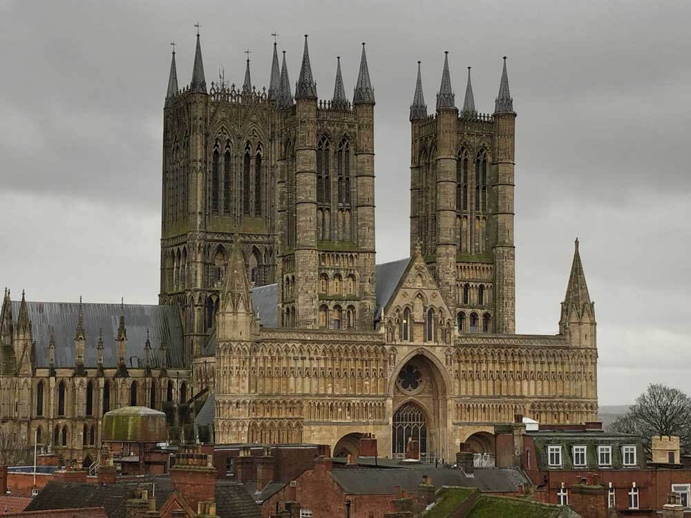 Lincoln cathedral in England