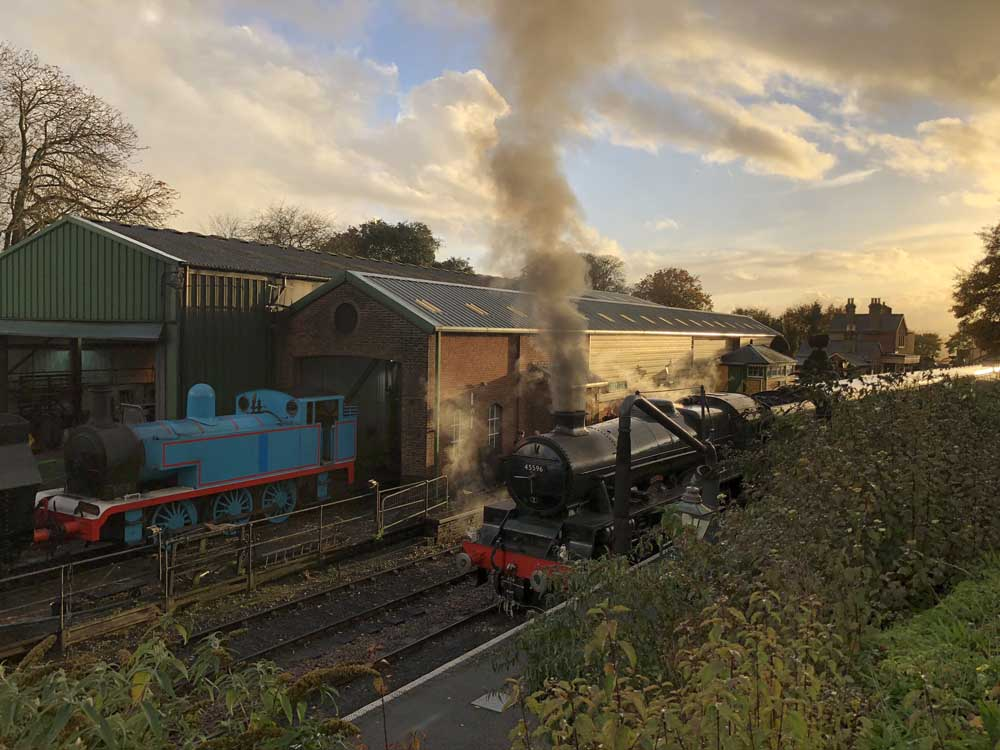 Watercress Line steam train, perfect destination for a family short break in hampshire