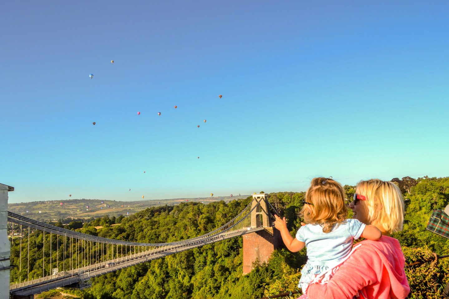 Clifton Suspension Bridge, Bristol, family short break idea, family city break