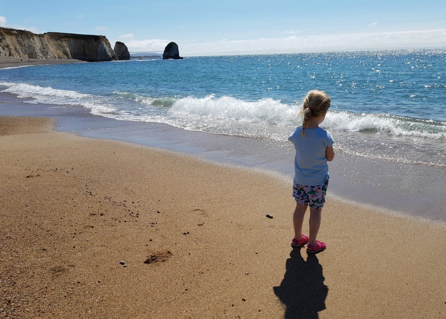 Freshwater Bay, Isle of Wight family short break
