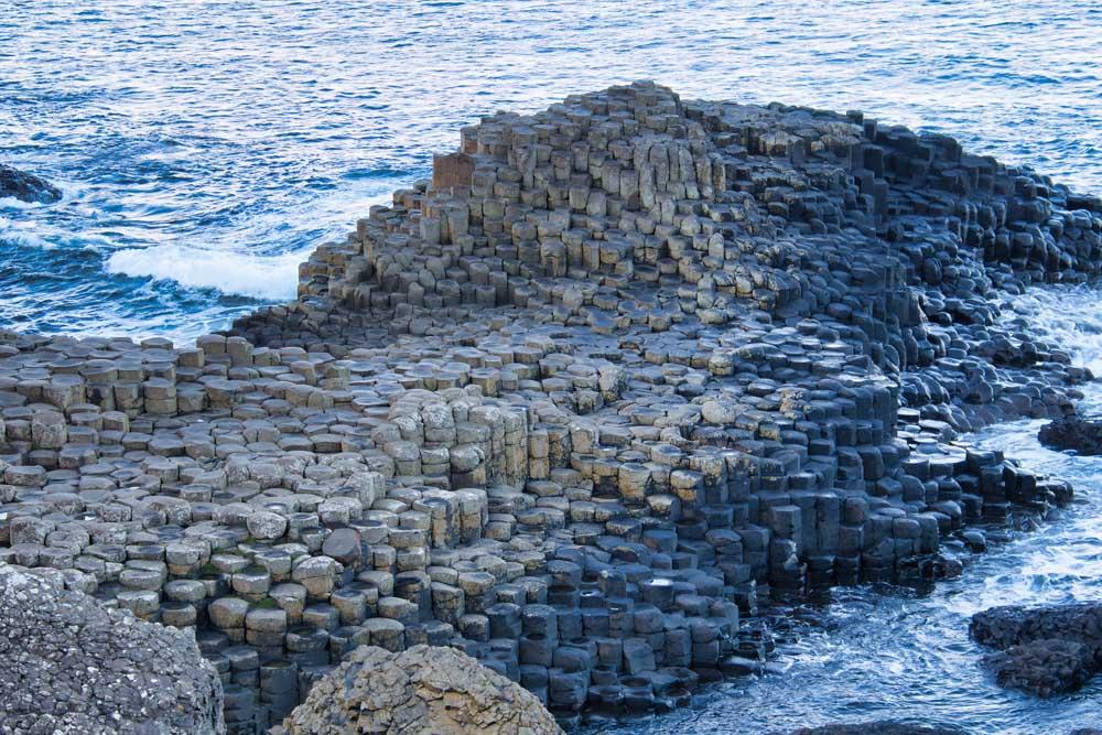 Rock formations Giants Causeway Northern Ireland