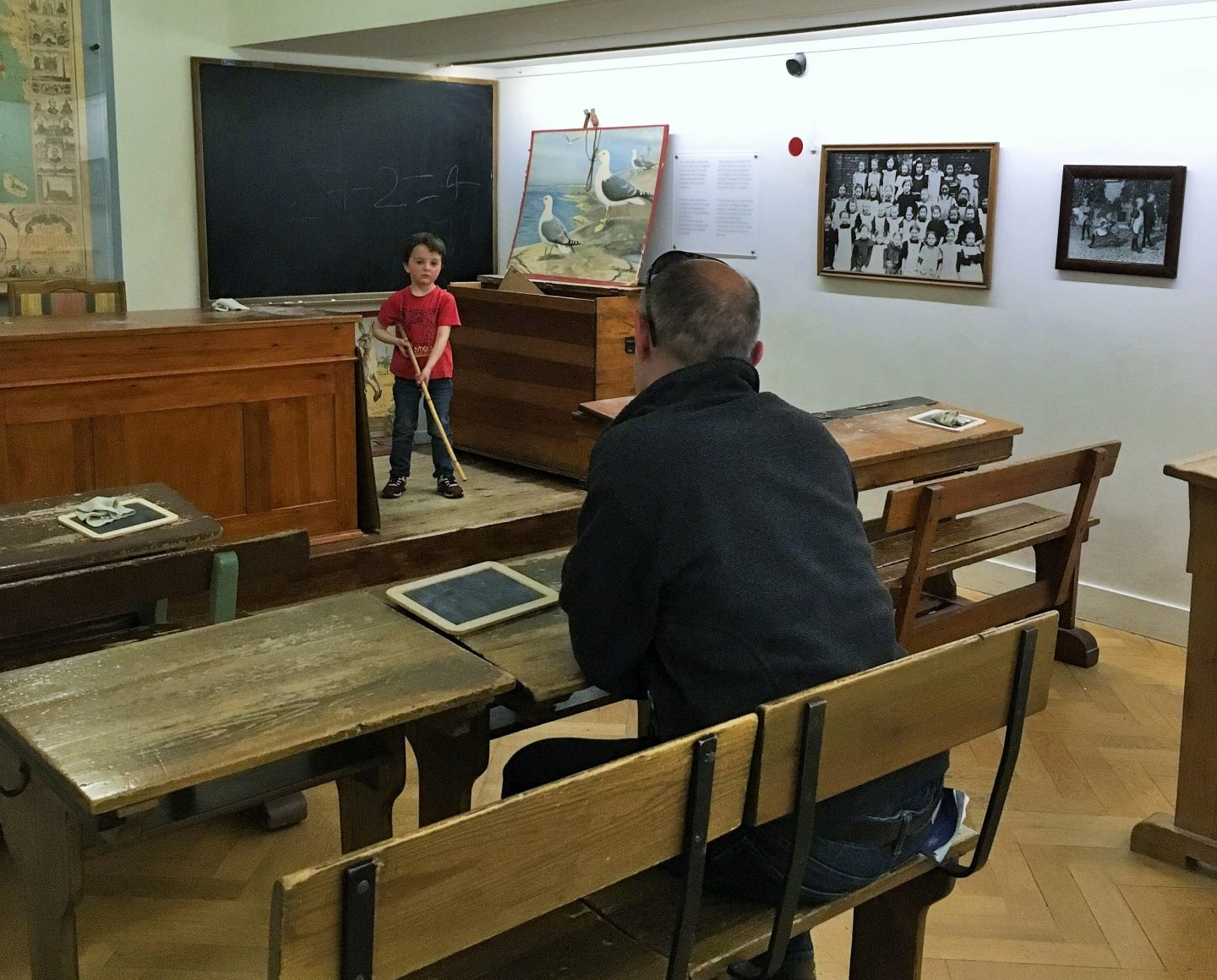 Classroom at Children's Museum, National Museum of Denmark