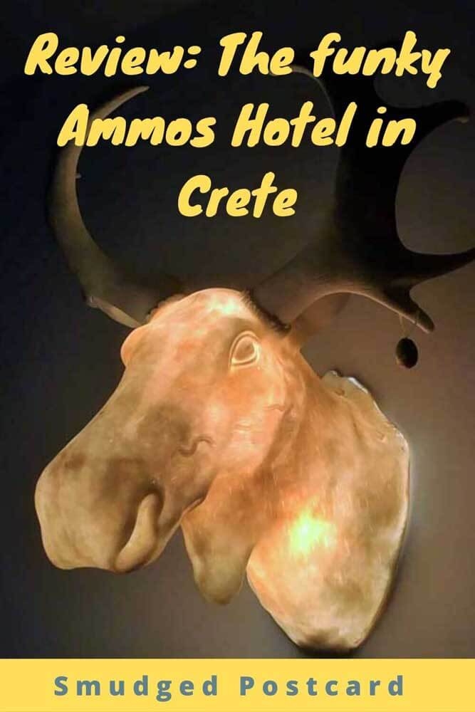 Review of the Ammos Hotel in Chania, Crete