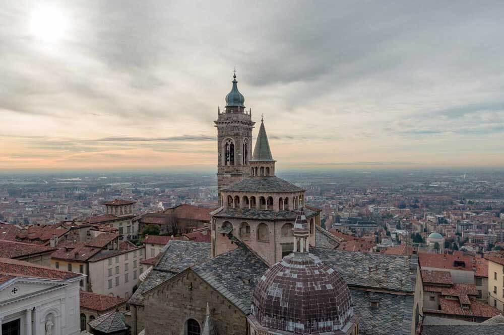 Campanone in Bergamo