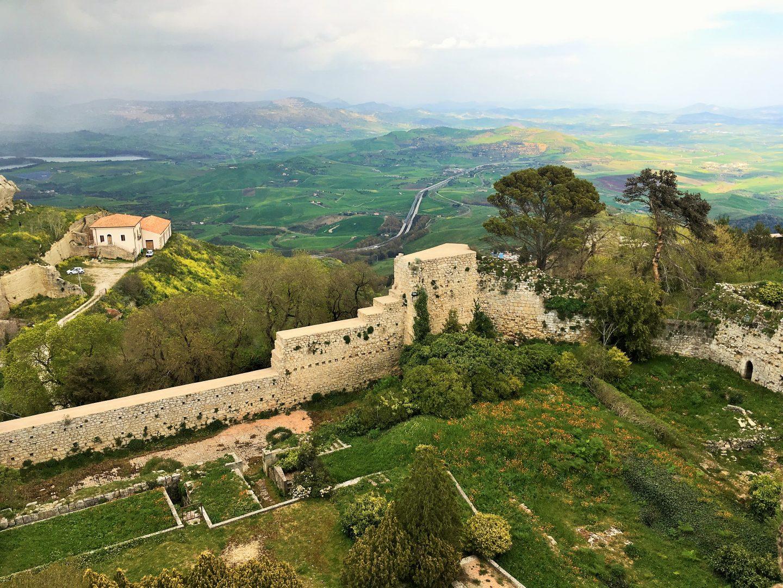 Castello di Lombardia enna sicily italy