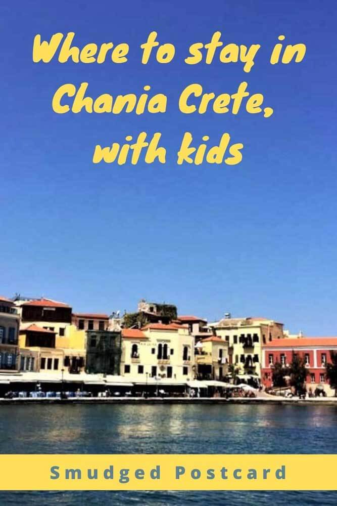 Where to stay in Chania with kids, the best family friendly hotel in Chania Crete