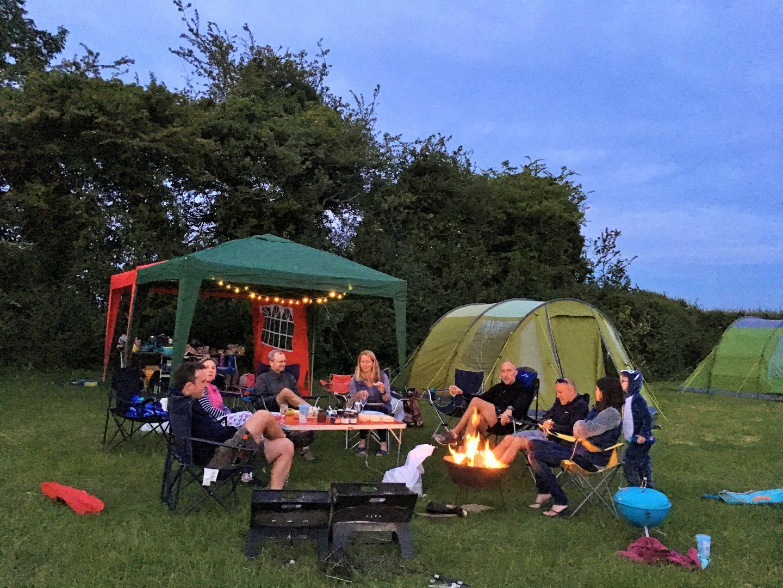 Far Peak campsite