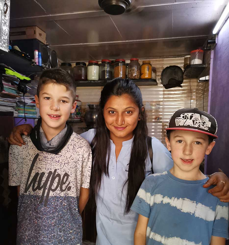 Reality Tours Mumbai India with kids