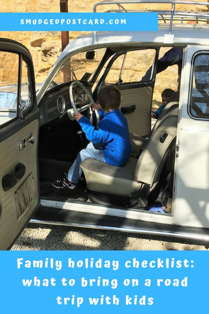 Family holiday checklist for a road trip with kids
