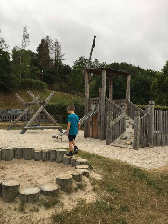 Camping Kaul play area