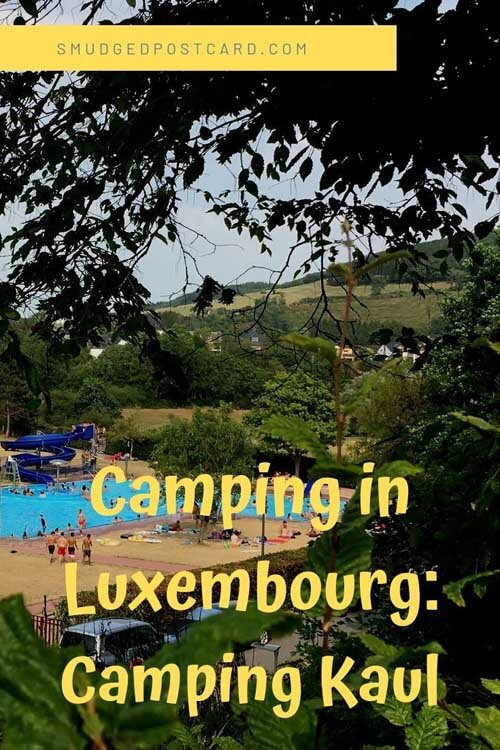 Camping holiday in Luxembourg at Kaul Camping Park