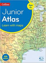 collins junior childrens atlas, travel gift ideas for children