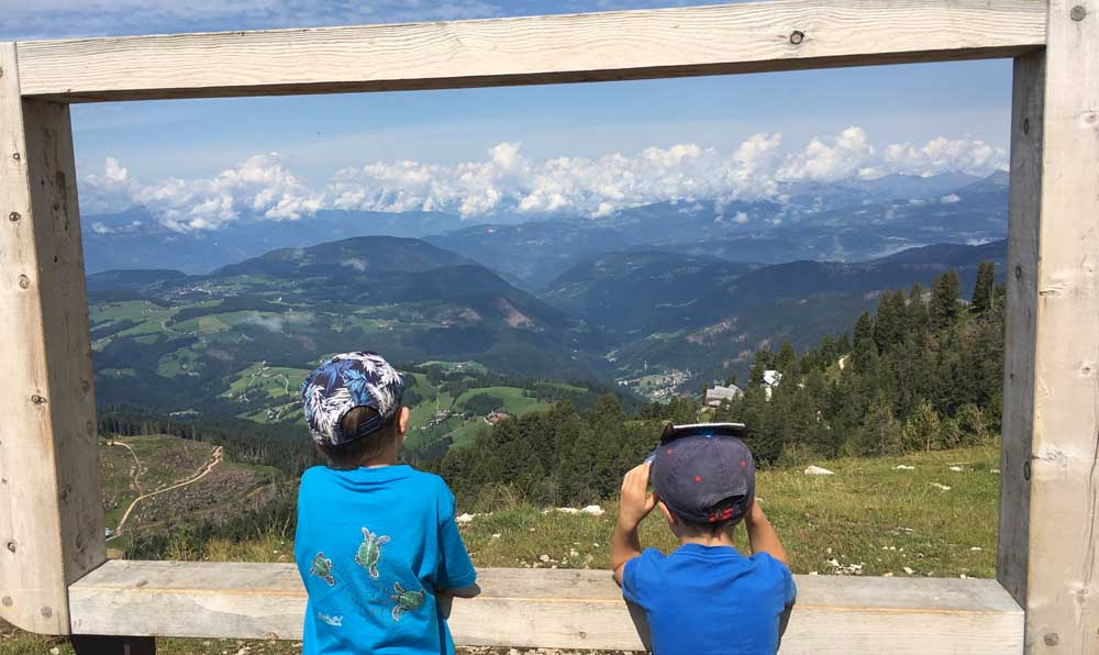 Summer in the Dolomites with kids