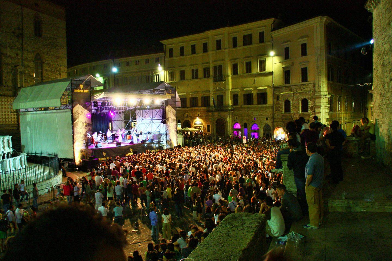 Piazza IV November, Perugia, Italy