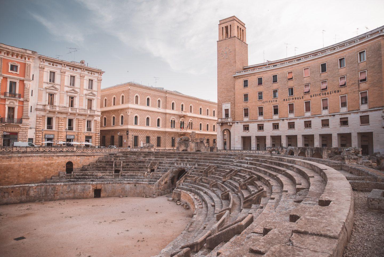 Piazza Sant'Oronzo, Lecce, Italy