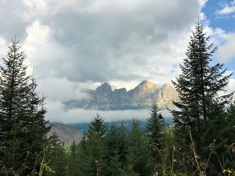 Latemar Massif, Dolomites, Italy summer holiday