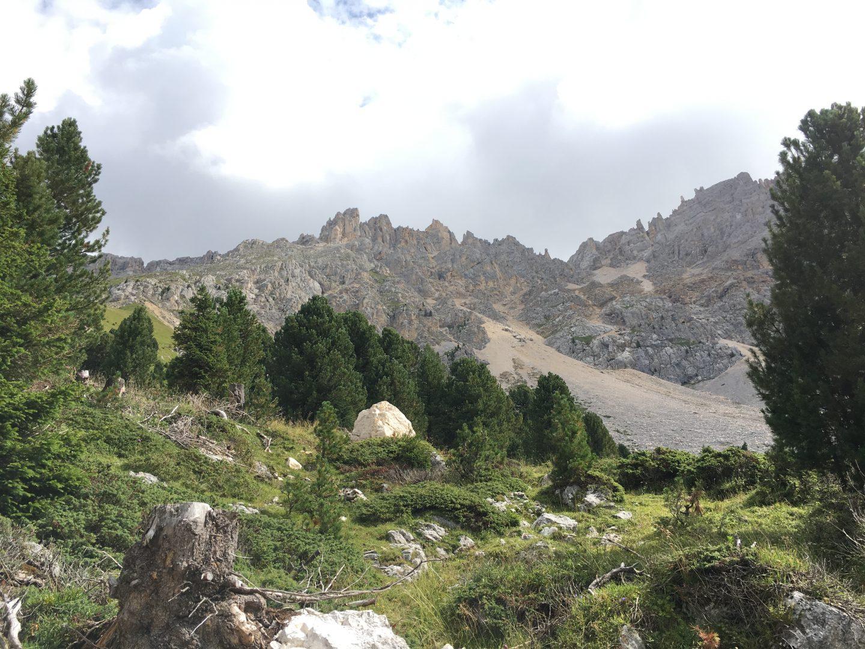 dolomites family holiday, latemar massif, italy mountains