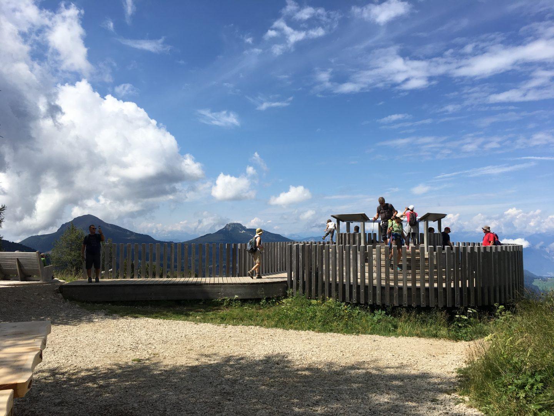 360 panorama of the Latemar massif
