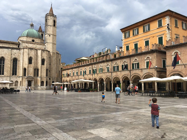 Piazza del Popolo, Ascoli Piceno, Italy