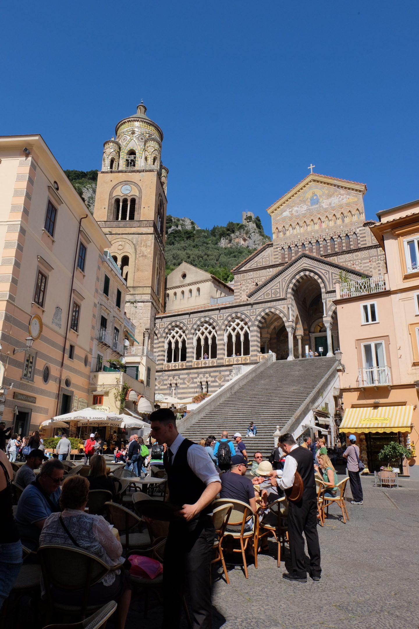 Piazza Duomo, Amalfi, Italy
