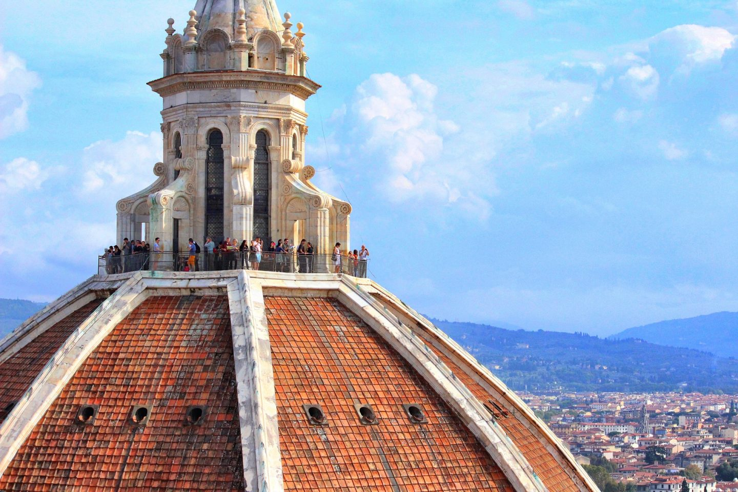 Florence, cathedral dome, tuscany, italy