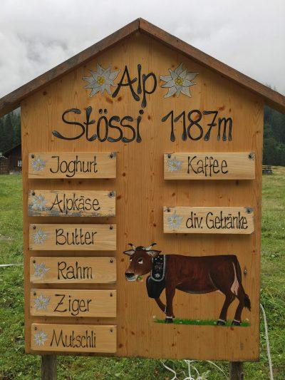 Alp Stössi, Switzerland